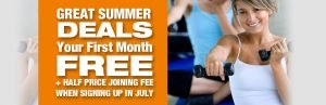 JULY new members offer