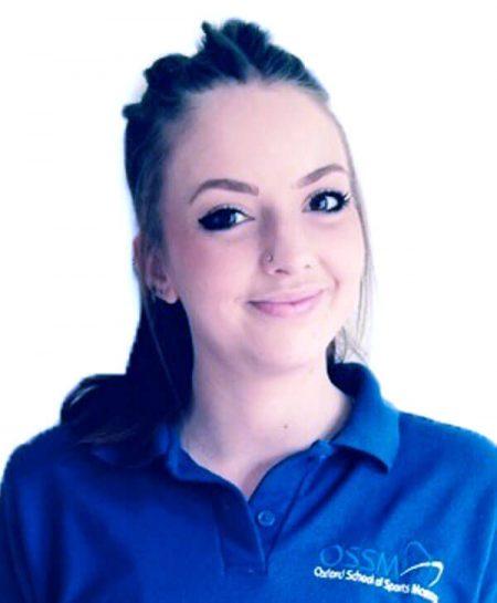 Zoe Crawford- Sports Masseuse