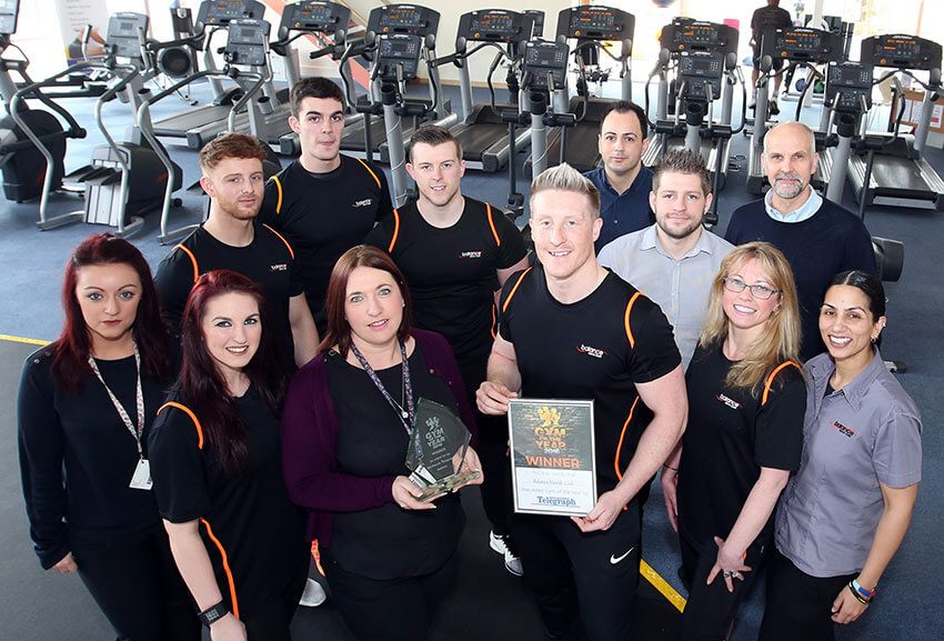 Gym of the year team