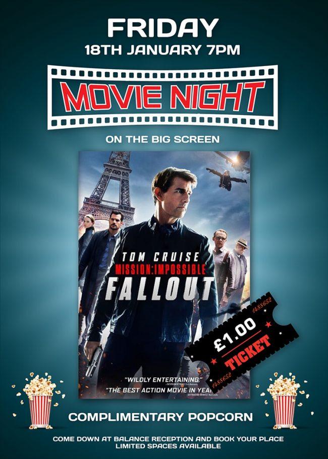 January 2019 Movie Night