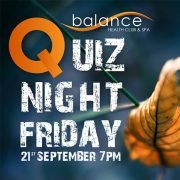 Sept Quiz Night