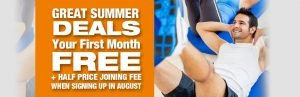 AUGUST new members offer